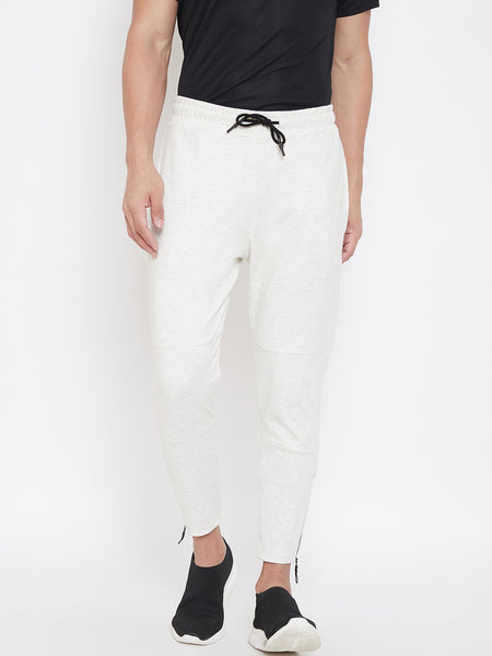 Solid jogger- Off White