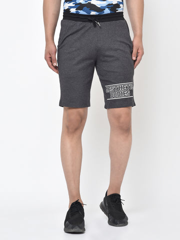 Men's Sweat Shorts- Grey