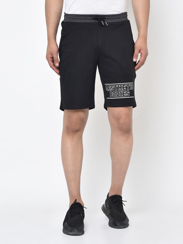 Men's Sweat Shorts- Black