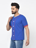 Baseball T-Shirt- Blue