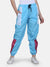 Women's Retro Track Pant- Sky Blue
