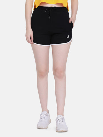Women's Sports Shorts-Black