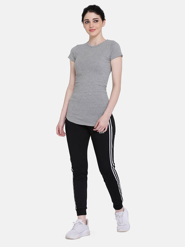 Women'S Grindle T-Shirt (Grey)