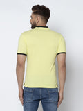 Polo Shirt -Lemon Yellow
