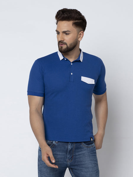Polo Shirt- Royal Blue