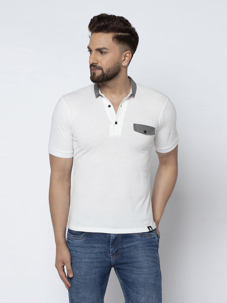 Polo Shirt- White