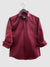 Solid Shirt - Maroon