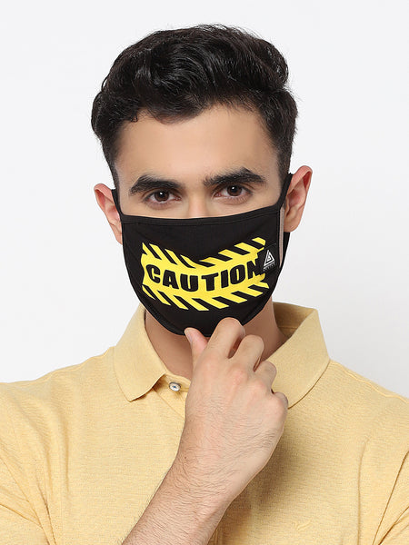 Combo Mask- Caution
