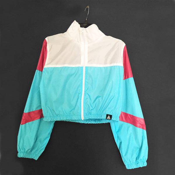 Women's Retro Jacket's- Blue
