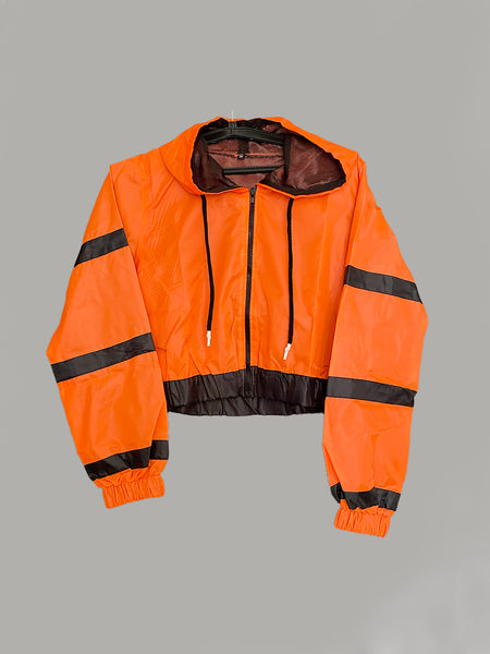 WOMEN RADICAL JACKET- ORANGE