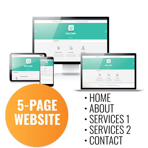 5 Page Website Development