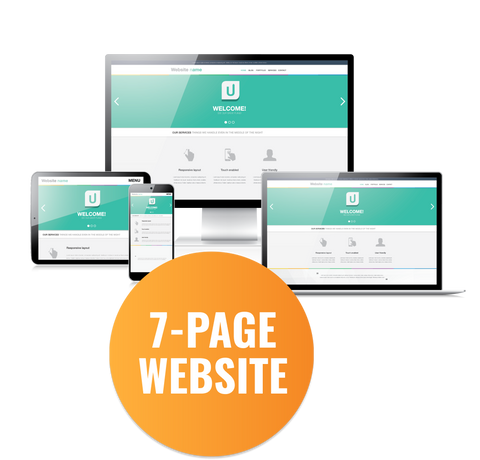 7 Page Website Development