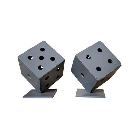 DICE BOOKENDS