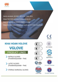 VGLOVE (NITRILE, LATEC GLOVES Powdered/powder -free)