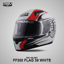 Load image into Gallery viewer, RSV FF300 FLAG39 WHITE