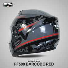 Load image into Gallery viewer, RSV FF500 BARCODE RED