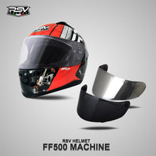 Load image into Gallery viewer, RSV FF500 MACHINE BUNDLING WITH VISOR DARKSMOKE / IRIDIUM SILVER