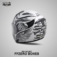 Load image into Gallery viewer, RSV FFZERO BONES BUNDLING WITH VISOR DARKSMOKE / IRIDIUM SILVER