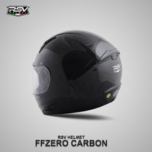 Load image into Gallery viewer, RSV FFZERO CARBON GRAPHIC BUNDLING WITH VISOR DARKSMOKE / IRIDIUM SILVER