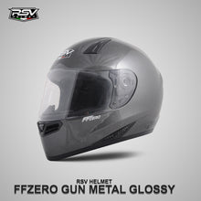 Load image into Gallery viewer, RSV FFZERO GUNMETAL GLOSSY BUNDLING WITH VISOR DARKSMOKE / IRIDIUM SILVER