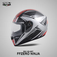Load image into Gallery viewer, RSV FF ZERO NINJA BUNDLING WITH VISOR DARKSMOKE / IRIDIUM SILVER