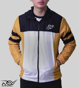 JAKET RSV FIREFIGHTER WHITE STRIPE