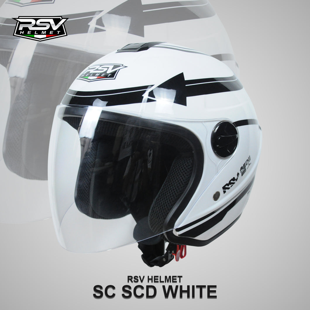 RSV HELM SUPER  COLOR SCD WHITE