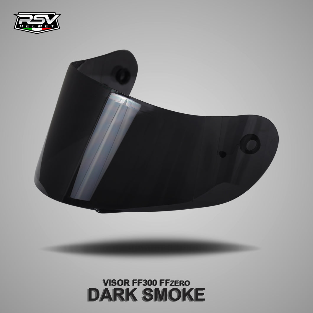 RSV FFZERO CARBON GRAPHIC BUNDLING WITH VISOR DARKSMOKE / IRIDIUM SILVER