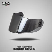 Load image into Gallery viewer, RSV FF300 WHITE GLOSSY BUNDLING WITH VISOR DARKSMOKE / IRIDIUM SILVER