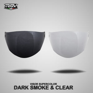 Visor RSV Super Color Clear & Darksmoke