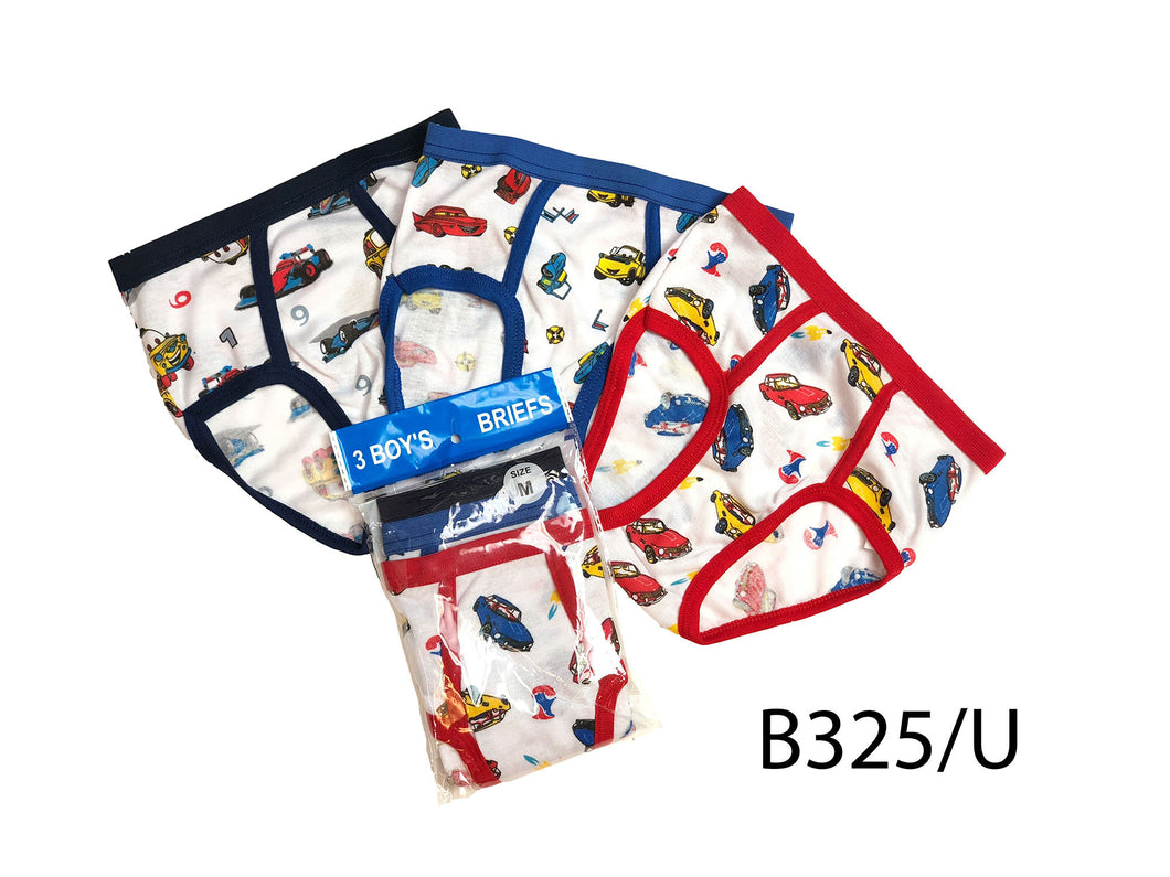 Boy's Cotton Briefs