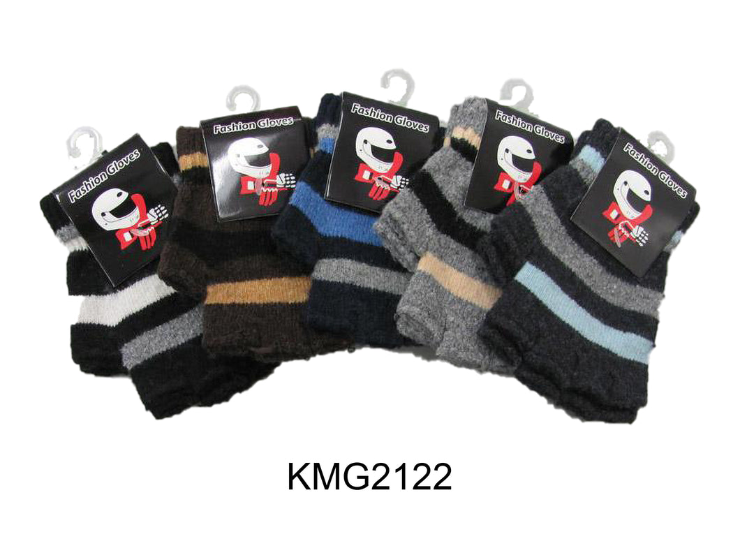 Boy's Imitation Wool Fingerless Glove
