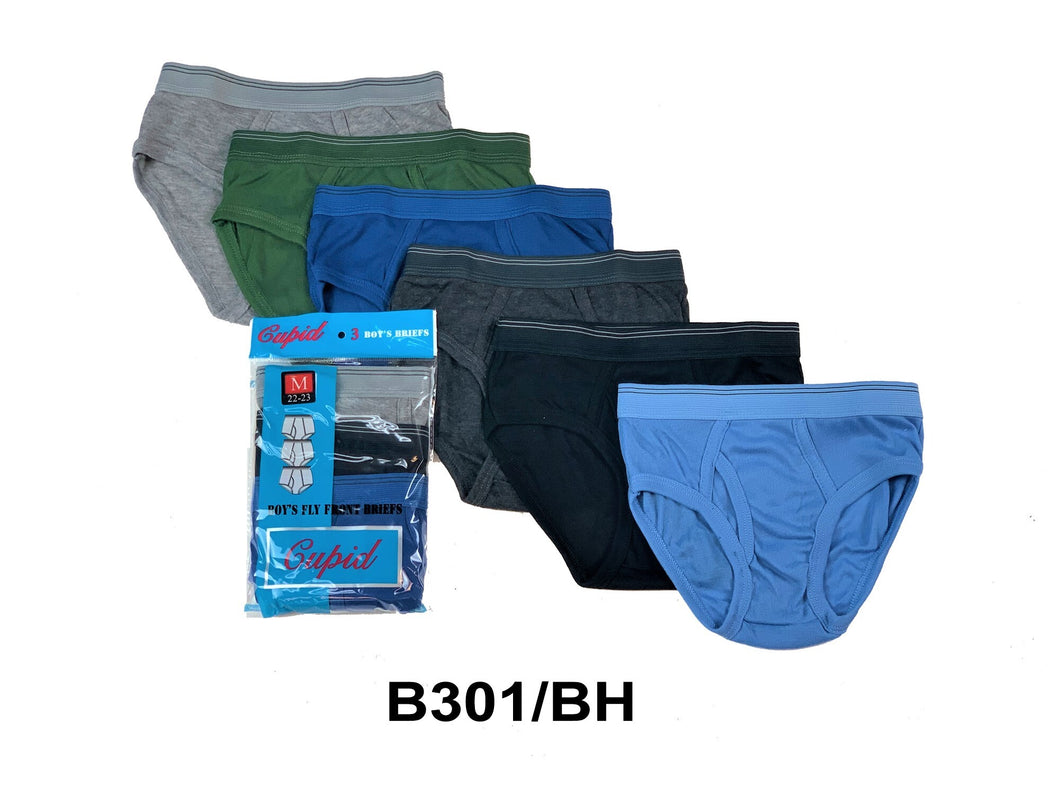 Boy's Cotton Color Briefs