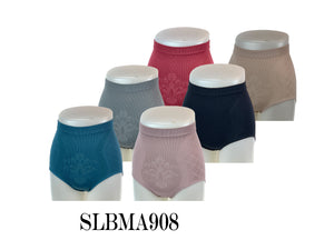 Mama's Seamless Hi-Cut Briefs