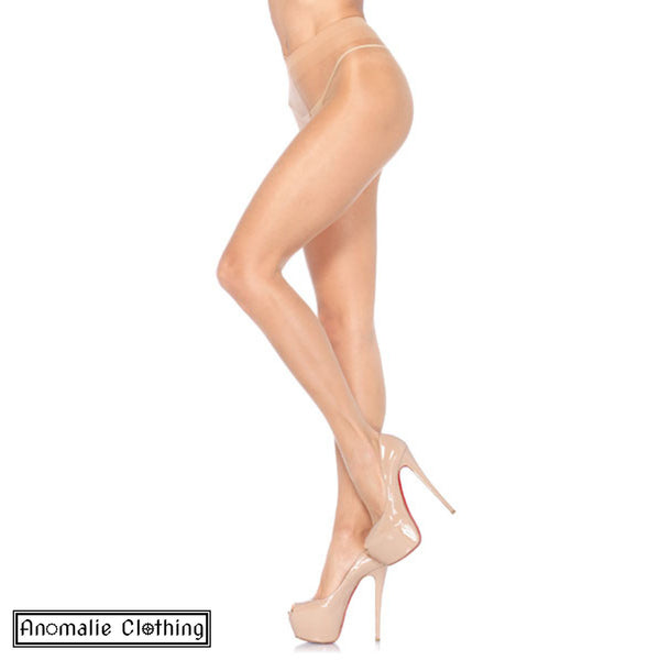 Honey Beige Sheer to Waist Support Pantyhose