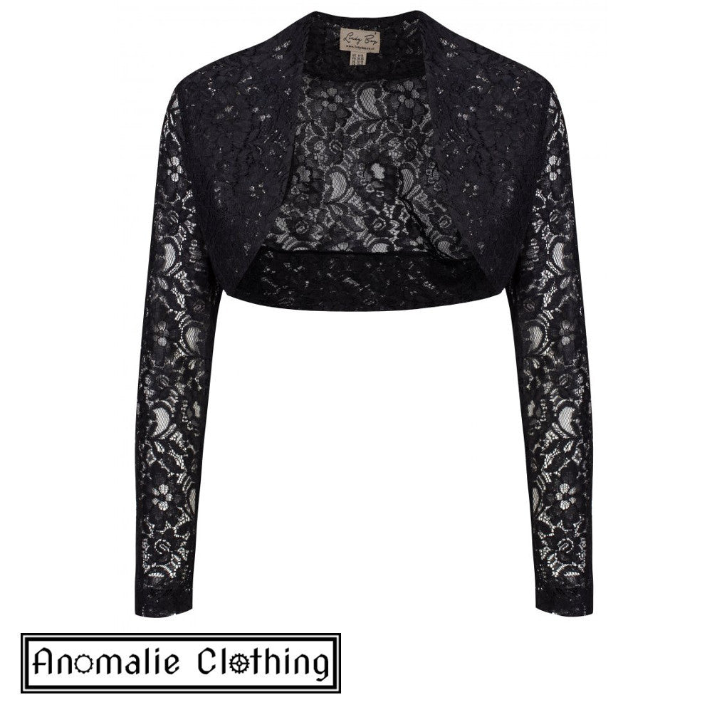 Black Lace Shrug - One AU Size 22-24 left!