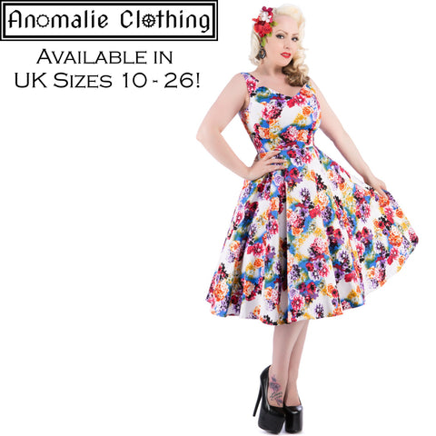 Georgina Floral Swing Dress