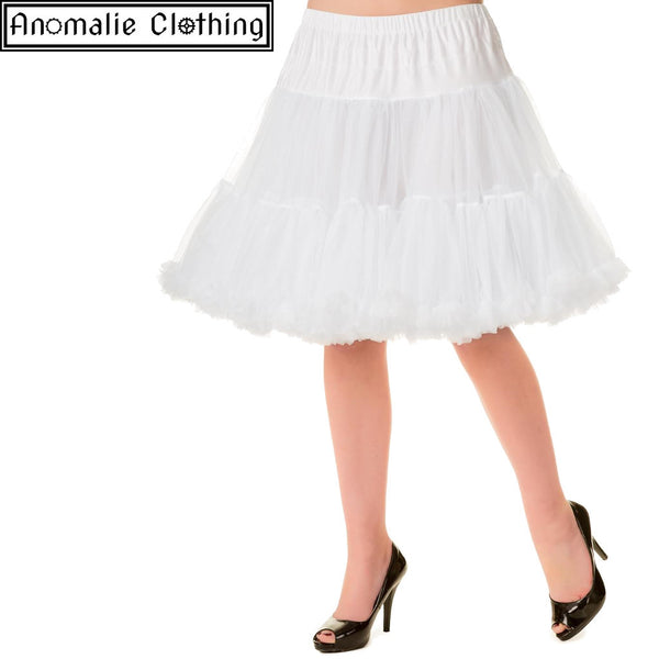 "20"" Short Dancing Days Petticoat in White - Discontinued"