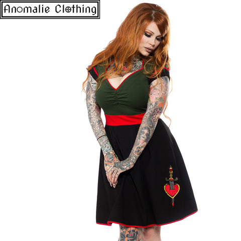Dollface Dagger Dress