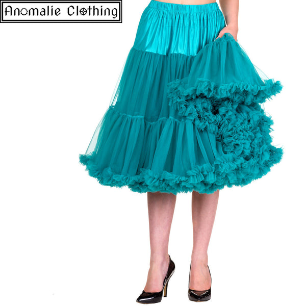 "26"" Long Lifeforms Petticoat in Emerald"