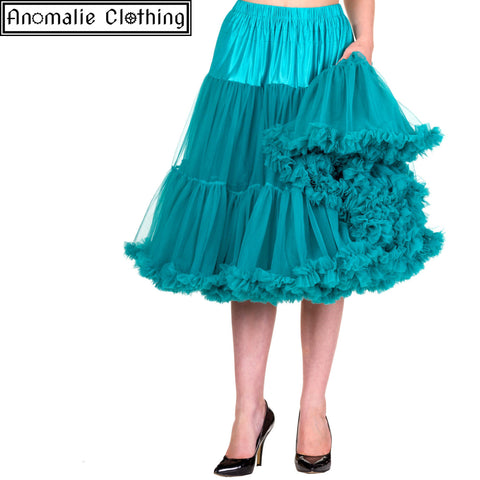 "26"" Long Lifeforms Petticoat in Emerald - Discontinued"