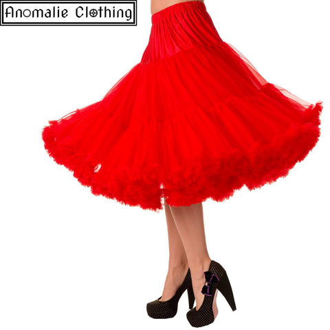 "26"" Long Lifeforms Petticoat in Red - Discontinued"