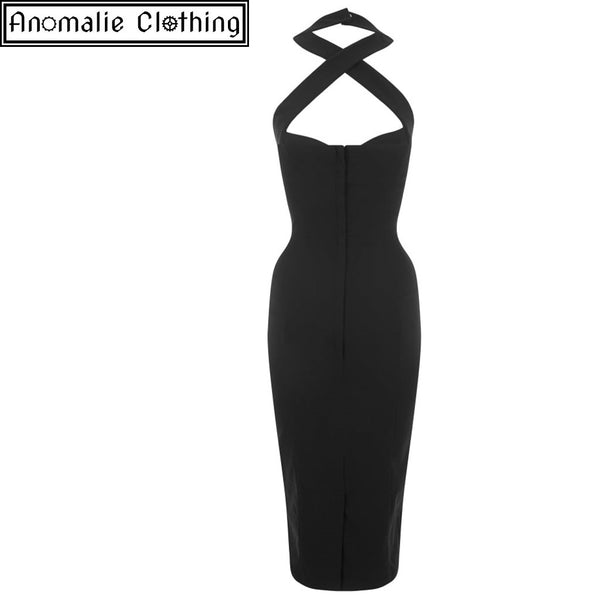Penny Pencil Dress in Black