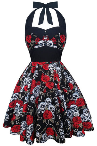 Skulls & Roses Ashley Dress