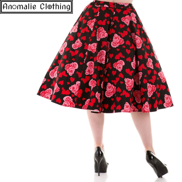 Hearts and Roses Skirt