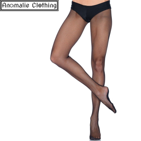 Professional Dance Wear Fishnet Tights in Black