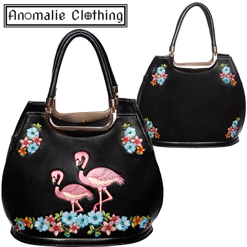 Flamingo Handbag in Black