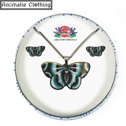 Blue Butterfly Gift Set