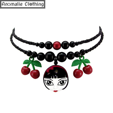 Cherry Girl Necklace