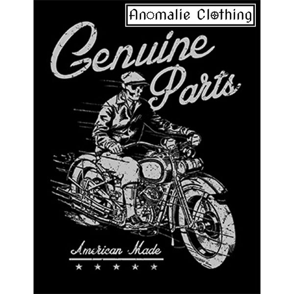 Genuine Cycle Parts Tee in Black & White - Discontinued